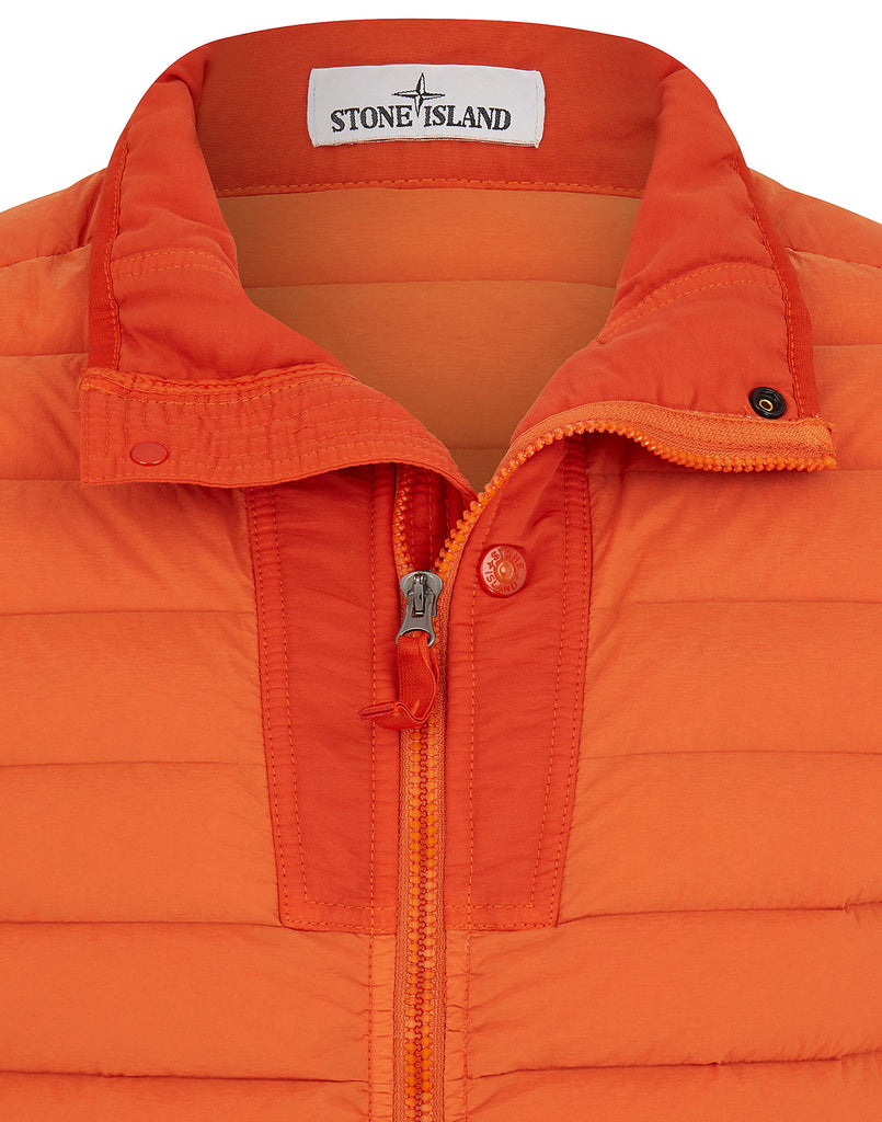 43825 LOOM WOVEN DOWN CHAMBERS STRETCH NYLON-TC Jacket in Orange