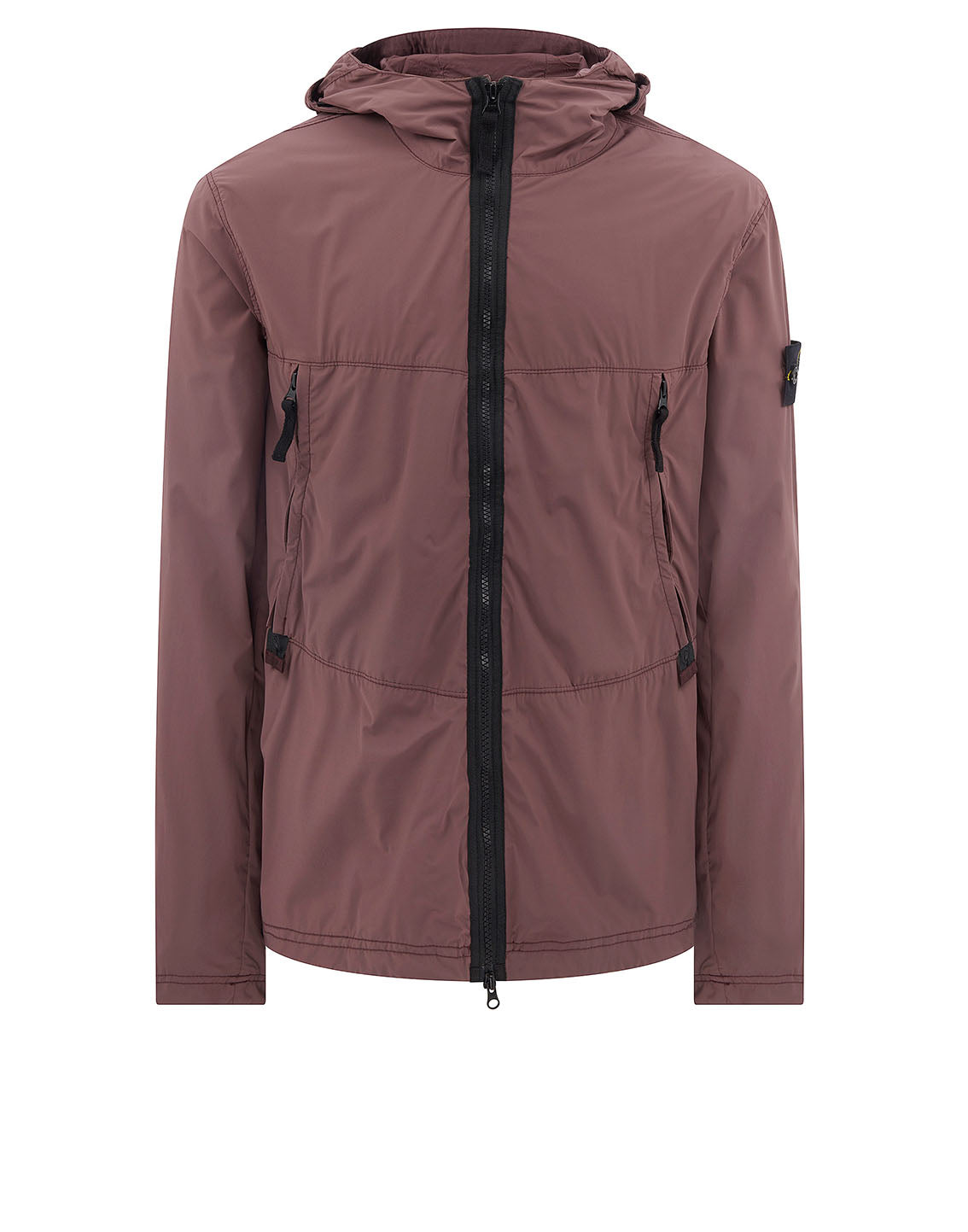40131 SKIN TOUCH NYLON-TC Jacket in Burgundy