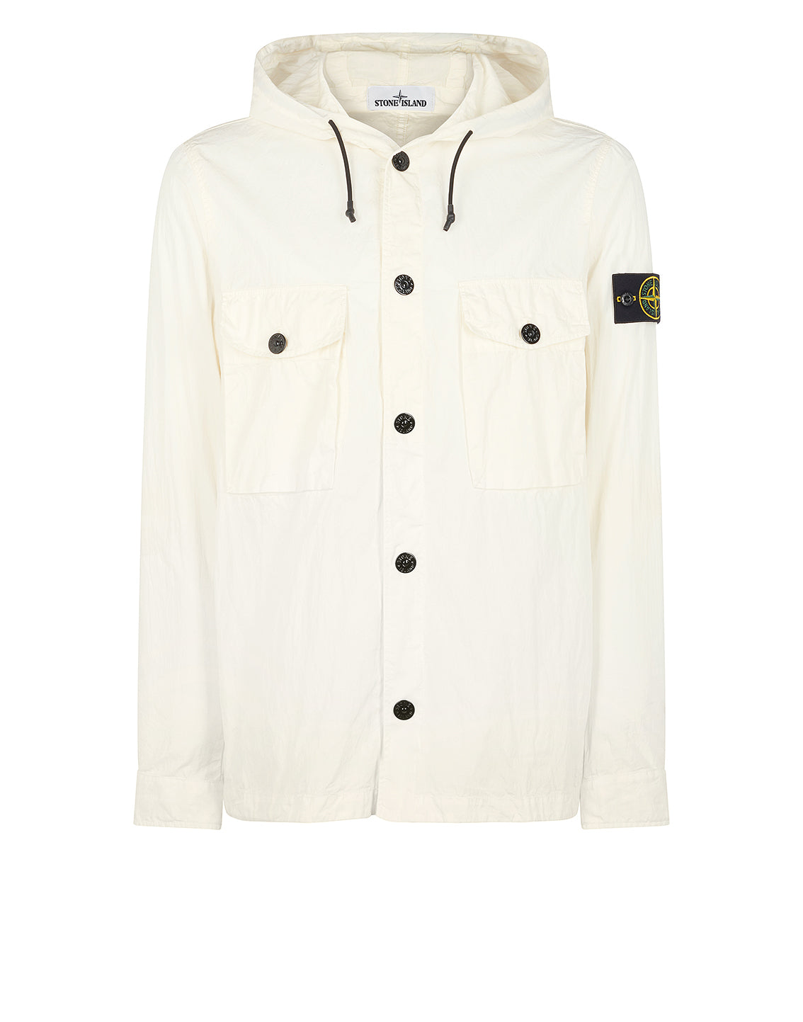 12408 Overshirt in Ivory