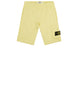60740 Fleece Bermuda Shorts in Lemon