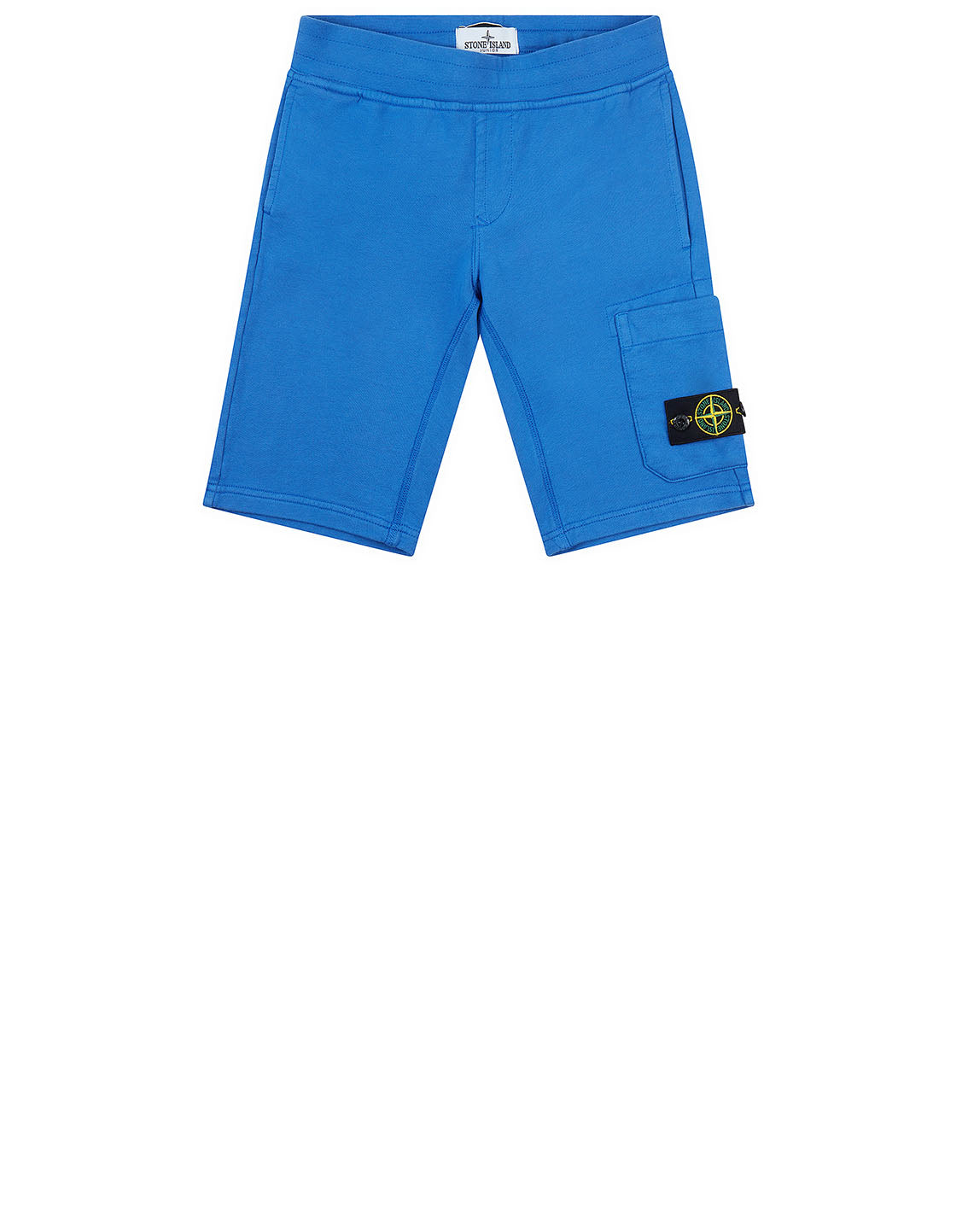 60740 Fleece Bermuda Shorts in Periwinkle