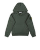 60240 Hooded Sweatshirt in Bottle Green