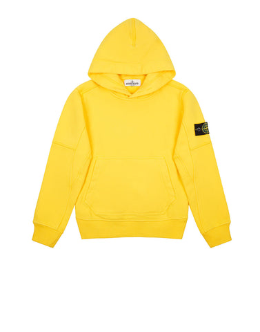 60240 Hooded Sweatshirt in Yellow