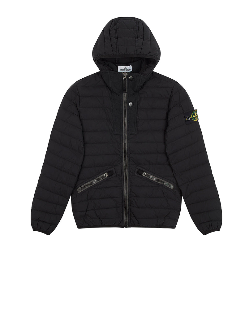 40632 Hooded Jacket in Black
