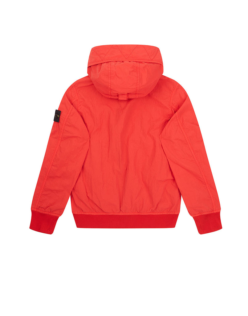 40930 GARMENT DYED CRINKLE REPS NY Jacket in Coral