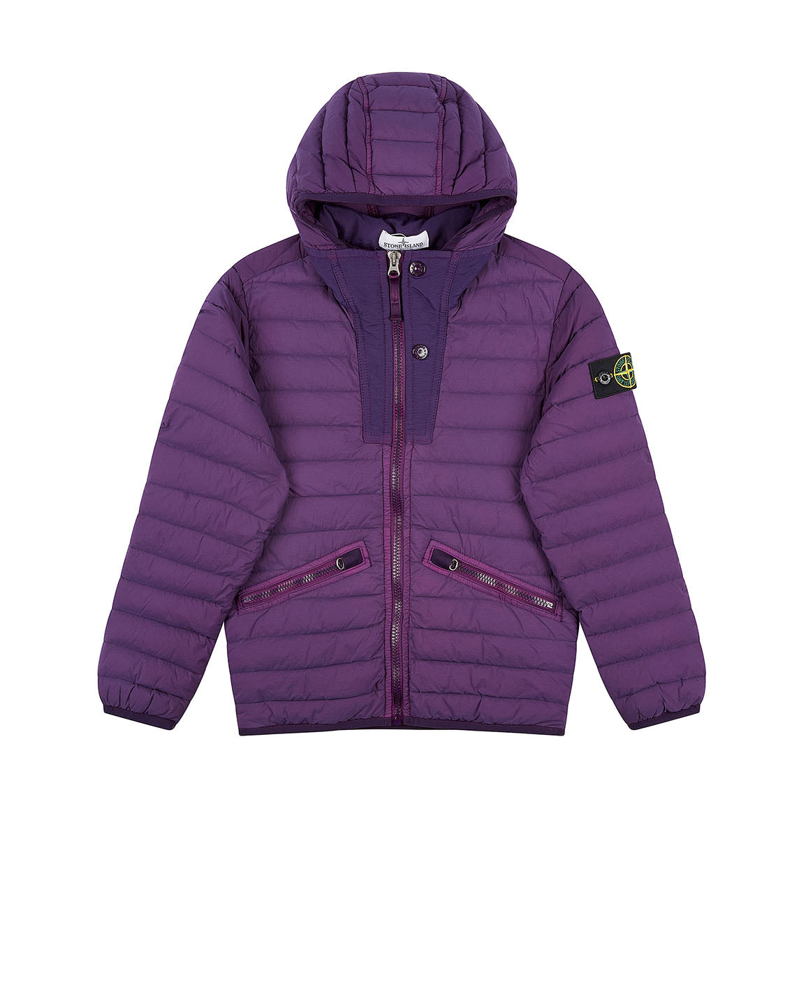 40632 Hooded Jacket in Purple