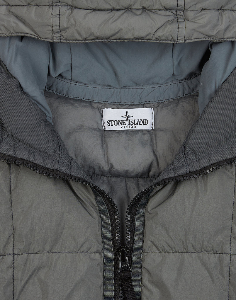40333 GARMENT DYED CRINKLE REPS NY DOWN Jacket in Mushroom