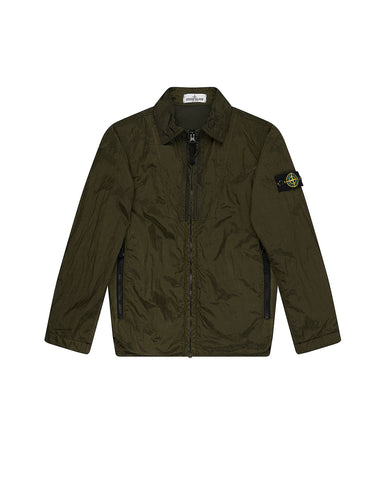 40935 NYLON METAL Jacket in Military Green