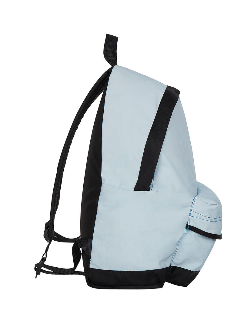90564 GARMENT DYED PLATED REFLECTIVE RUCKSACK in Cobalt Blue
