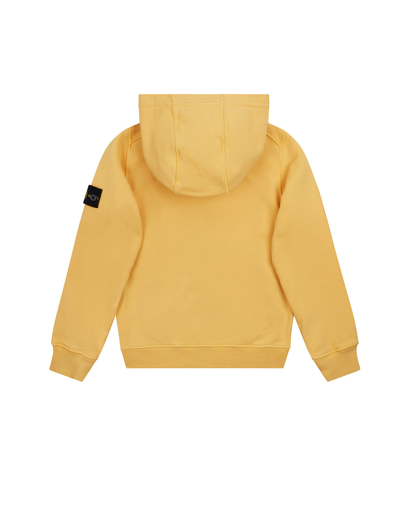60740 Zip Through Sweatshirt in Yellow Ochre