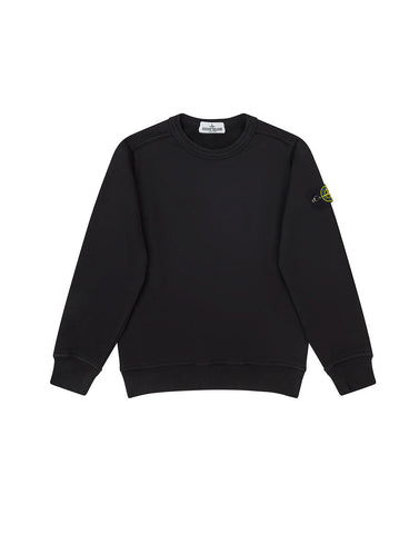 60940 COTTON FLEECE in Black