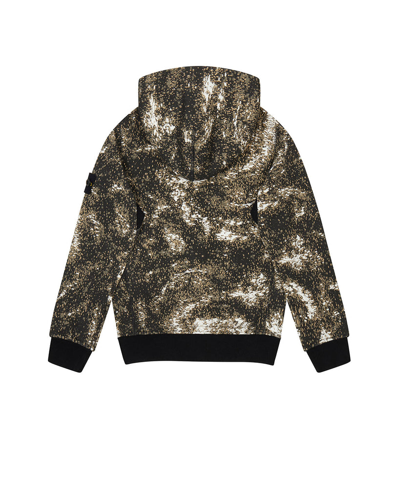 60645 Digital Print Sweatshirt in Grey