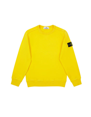60940 COTTON FLEECE in Yellow
