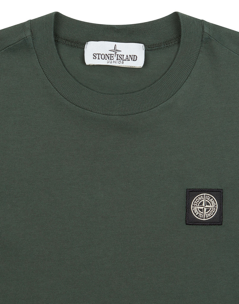 20147 T-Shirt in Bottle Green