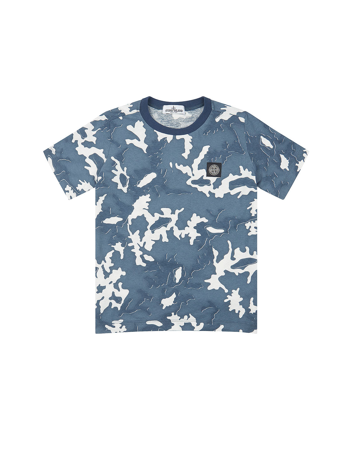 21650 CAMOUFLAGE T-Shirt in Navy Blue