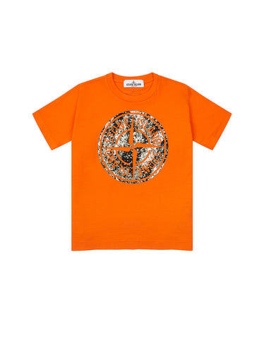 21057 Compass T-Shirt in Orange
