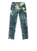 30638 PAINTBALL CAMO COTTON CANVAS Pants in Aviation Blue