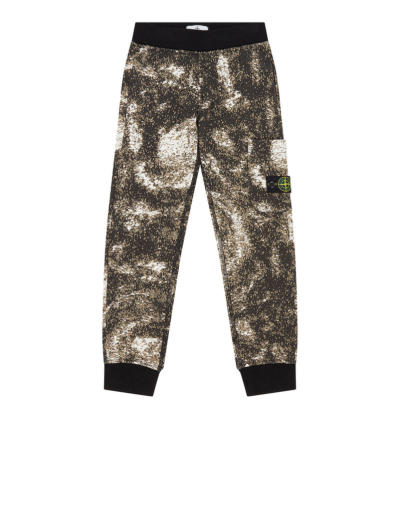 60845 Digital Print Sweatpants in Grey
