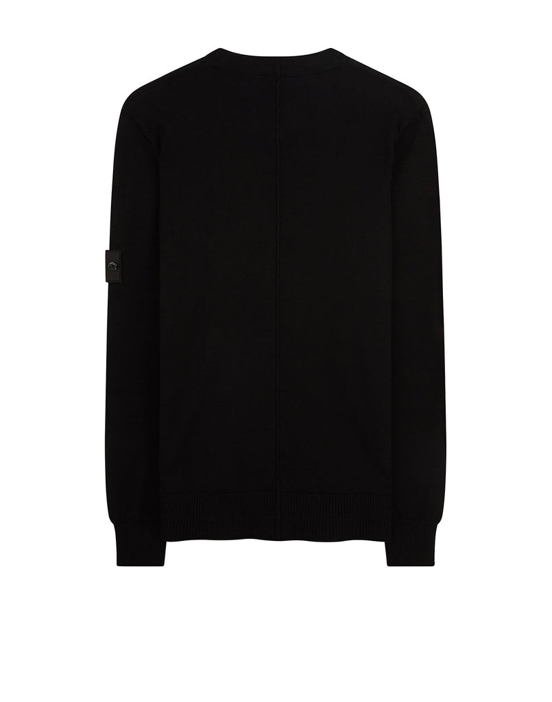 501A1 CREWNECK Soft Cotton Sweatshirt in Black