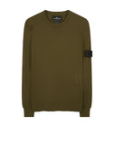 501A1 CREWNECK Soft Cotton Sweatshirt in Green