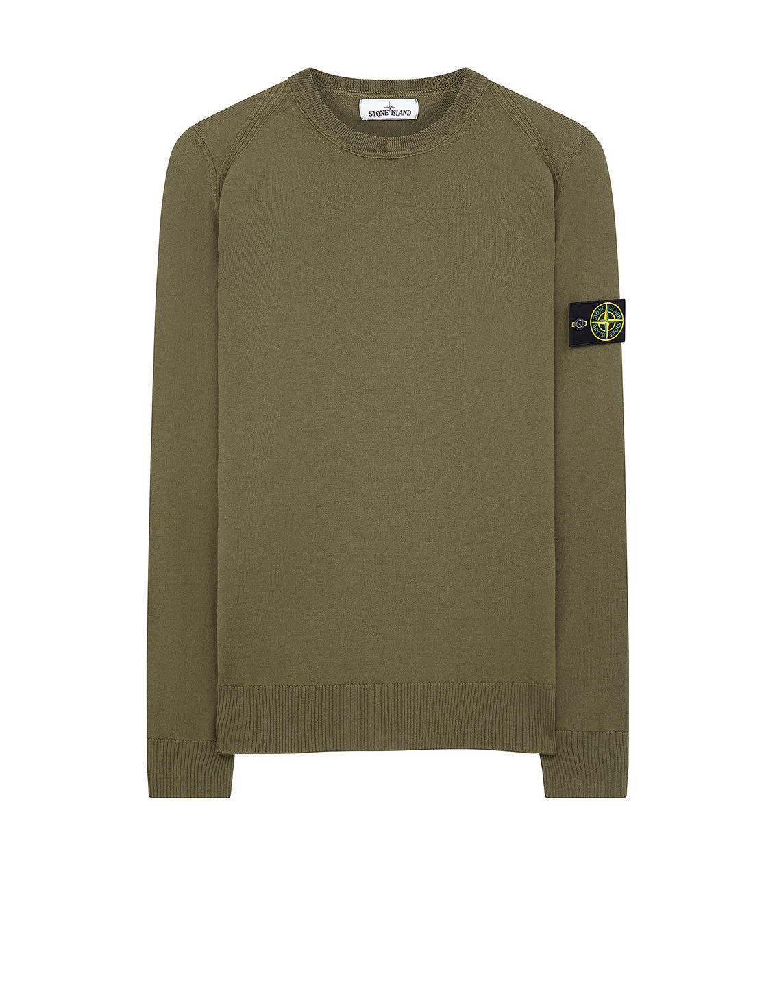 524C4 Crewneck Wool Knit in Olive