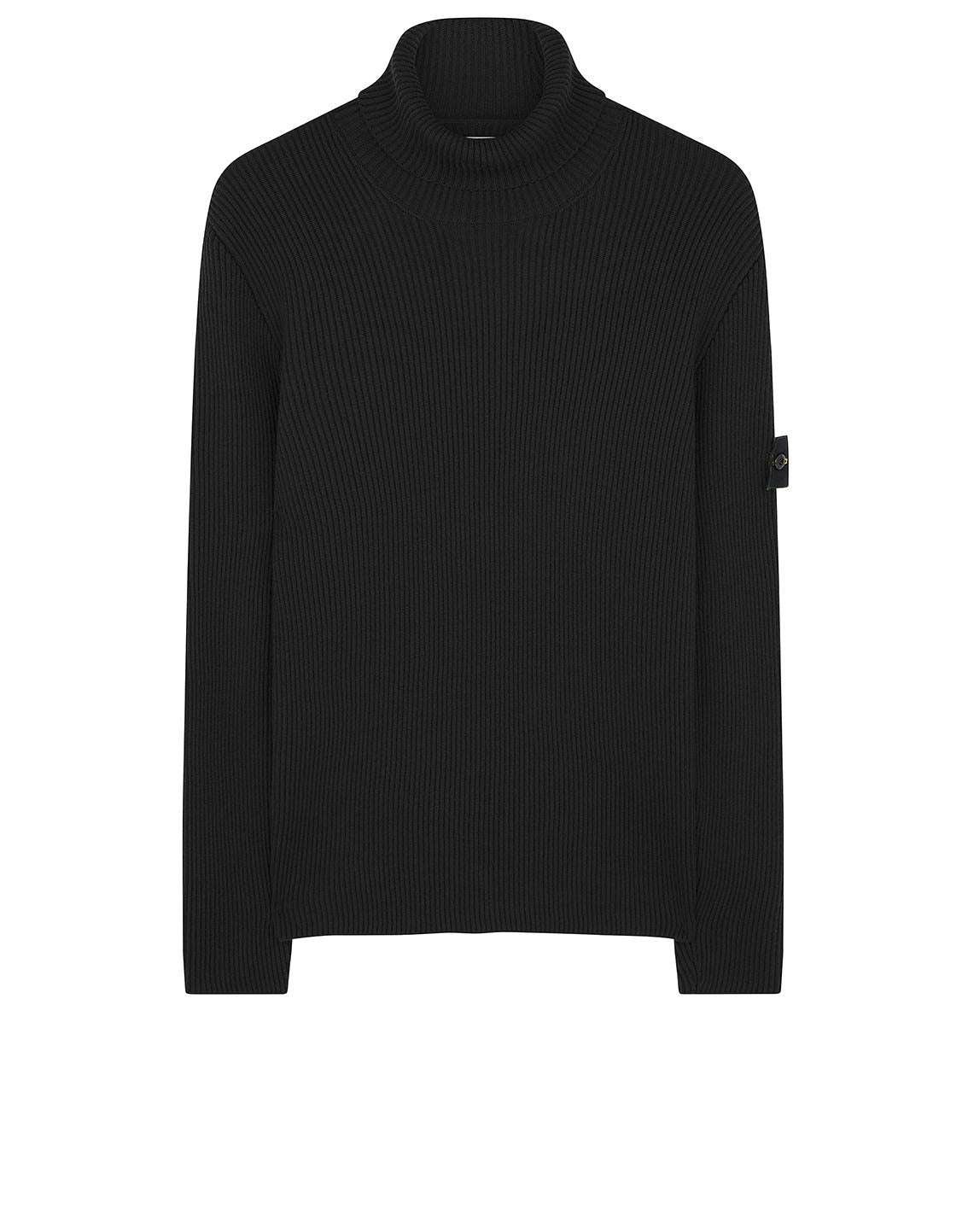 522C2 Turtleneck Jumper in Black