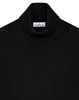 528C4 Rollneck Jumper in Black