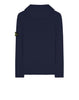 506A3 Hooded Knitted Cardigan in Navy
