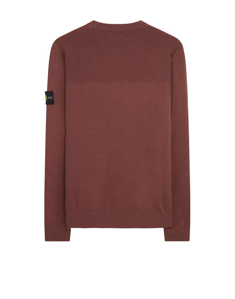 591A1 Wool Knit in Dark Burgundy