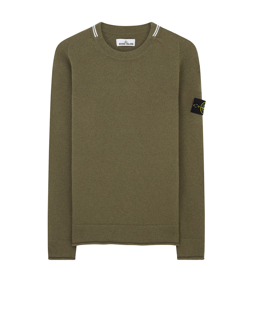 513A3 Lambswool Knit in Olive