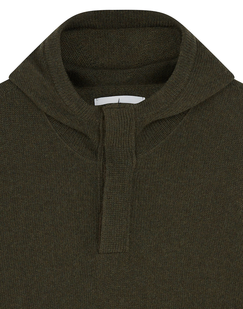 507A3 Hooded Jumper in Dark Forest