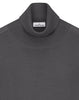 528C4 Rollneck Jumper in Pearl Grey