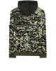 557D1 MIXED YARNS TWISTED PIXEL CAMO Hooded Knitwear in Black
