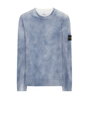 543B7 HAND-SPRAYED TREATMENT Knitwear in Blue Marine