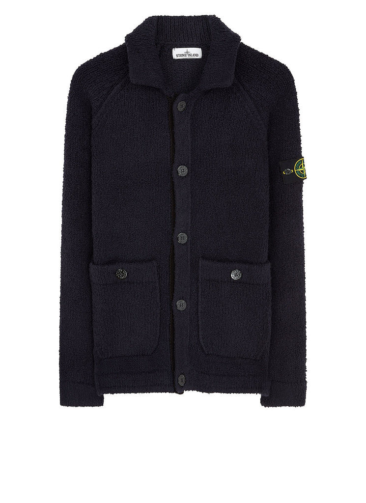 562D2 Cardigan in Navy Blue
