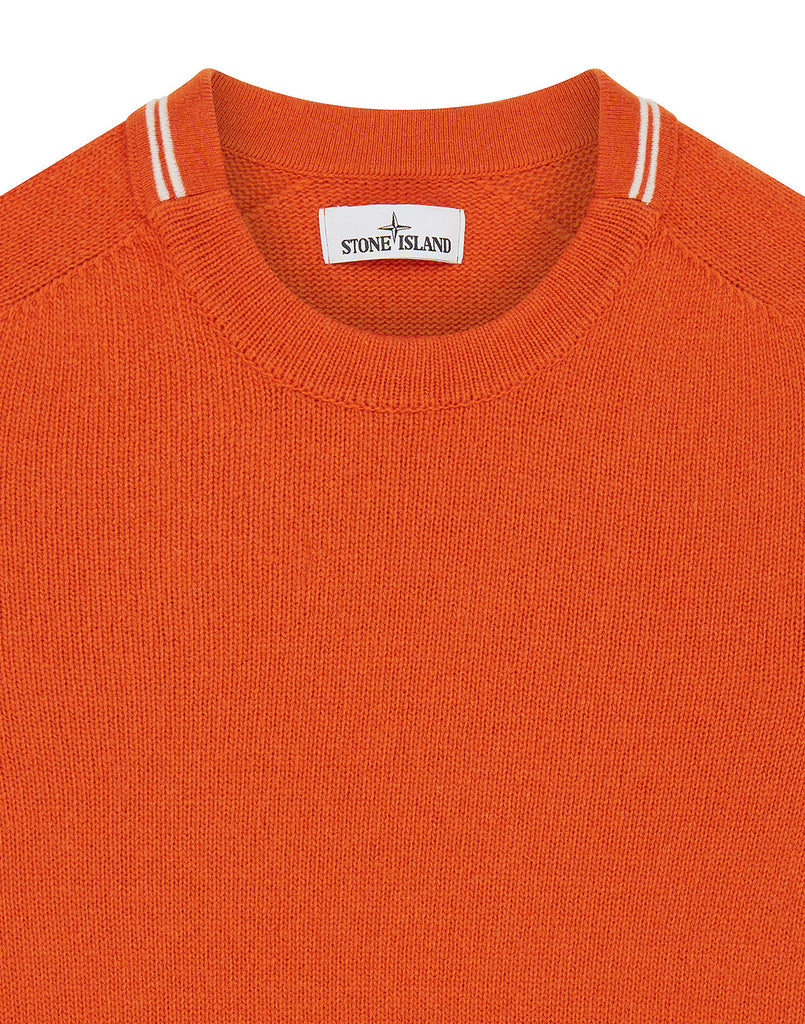 513A3 Lambswool Knit in Orange