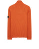 542C2 Ribbed Wool Rollneck Knit in Orange