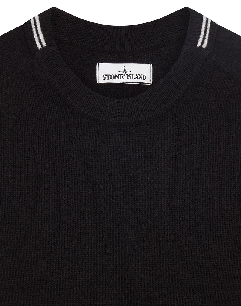 513A3 Lambswool Knit in Black