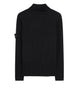 542C2 Ribbed Wool Rollneck Knit in Black