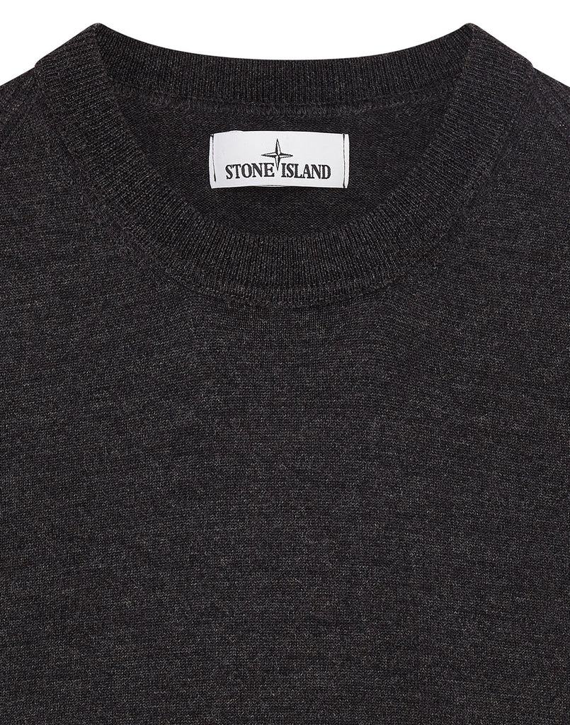524C4 Crewneck Wool Knit in Charcoal
