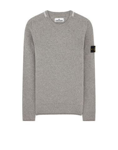 513A3 LAMBSWOOL KNIT IN PEARL GREY