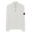 512A1 Knitted Polo Shirt in White