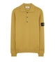 589A1 Wool Polo Shirt in Mustard