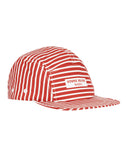 993XC STONE ISLAND MARINA Hat in Brick Red