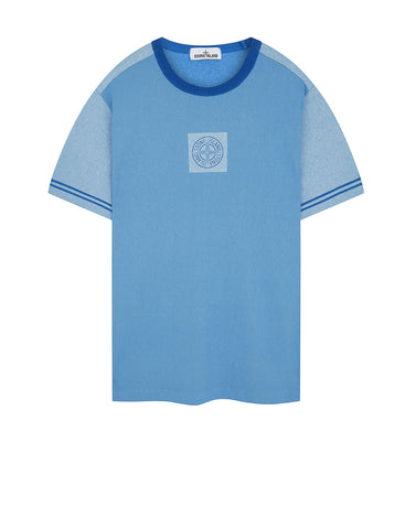 a0f5823745aa 23335 JERSEY PLACCATO T-Shirt in Periwinkle