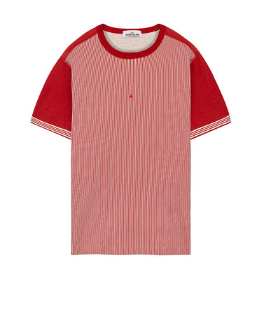 233X1 STONE ISLAND MARINA T-SHIRT in Brick Red