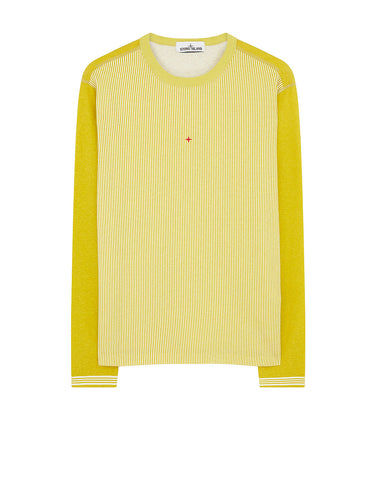 244X2 STONE ISLAND MARINA T-Shirt in Yellow
