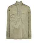 11017 NYLON METAL RIPSTOP Overshirt in Sage