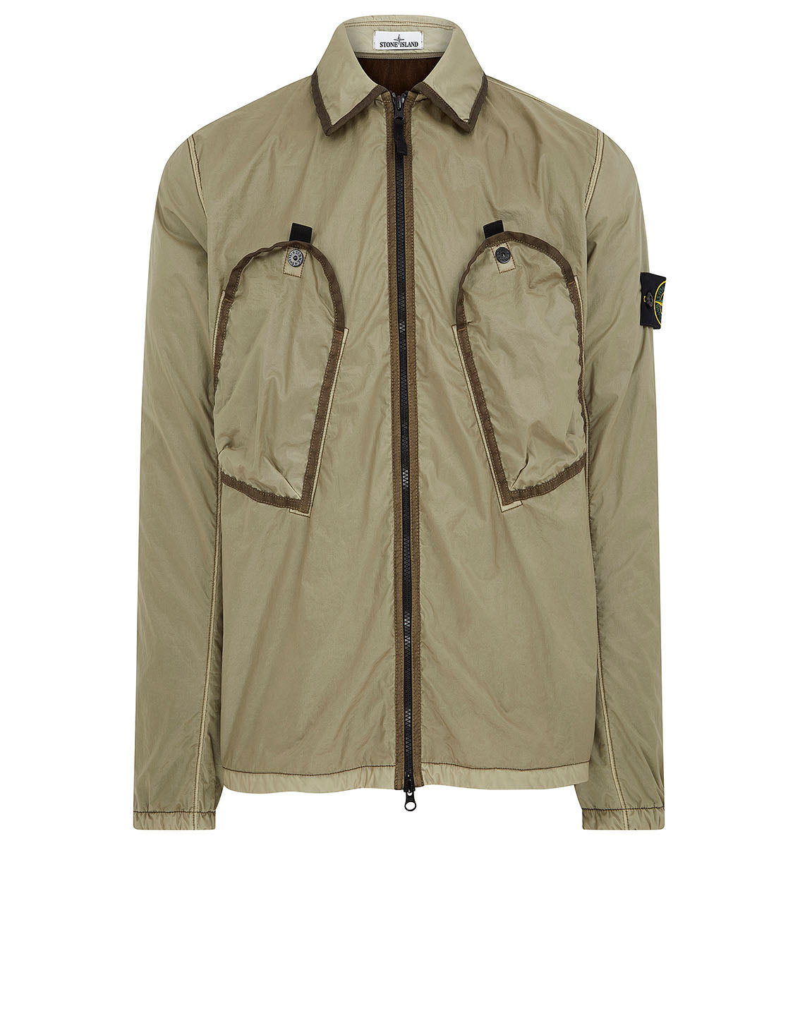 11435 Lamy Flock Jacket in Olive