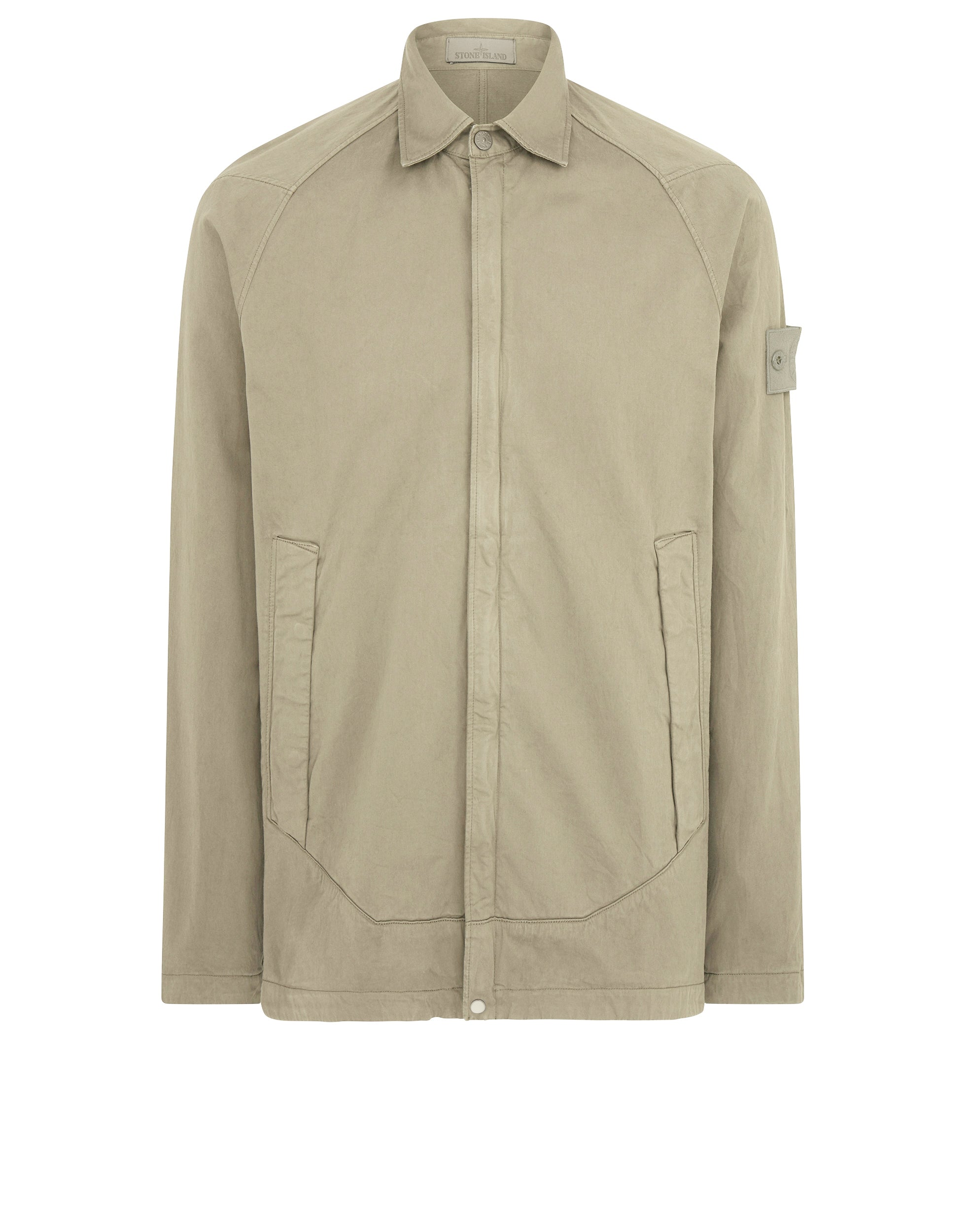 116F4 Overshirt in Beige